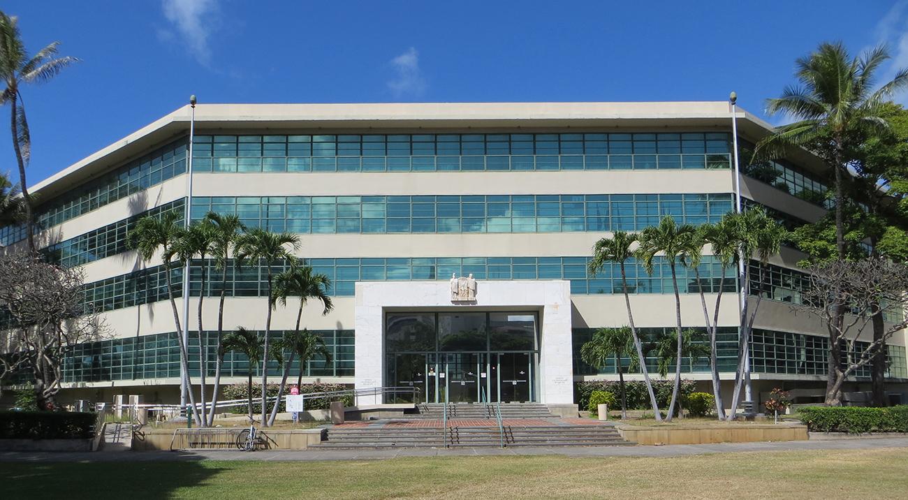 Hawaii Department of Education headquarters in Honolulu