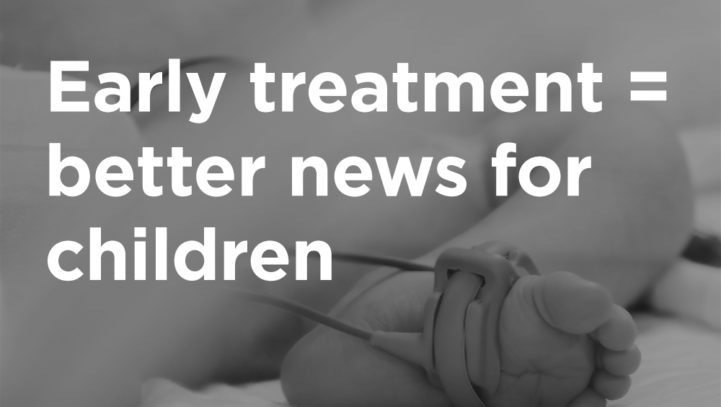 Early Treatment Increases Survival Rate of Children with CHD